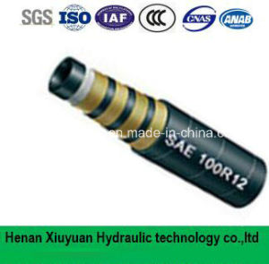 Spiral Hydraulic Rubber Hose Flexible Oil Rubber Hose