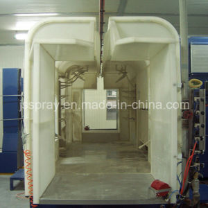 Color-Changing Powder Coating System with Gema Powder Gun pictures & photos