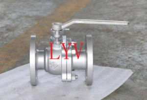 Flanged Soft Sealing Ball Valve with Worm Gear pictures & photos