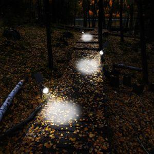 Waterproof 4 LED 200 Lumens Solar Wall Lights in-Ground Lights Spotlights Security Lighting Path Lights Solar Outdoor Garden Lighting pictures & photos