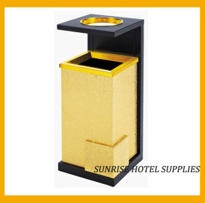 Hotel Lobby Ashtray Bins with Swivel Lid pictures & photos
