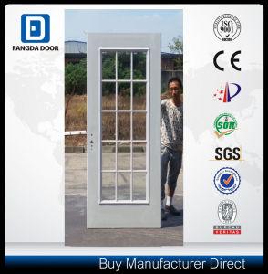 15 Full Lite Glass American Premium Prehung Steel Door Slab pictures & photos