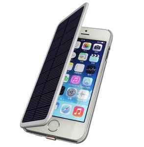 Solar Panel Power Bank Battery Cases for iPhone 6/6s (HB-132A) pictures & photos