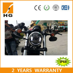 7′′ CREE LED Driving Light for Harley Offroad pictures & photos