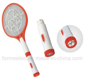 Rechargeable Electric Mosquito Swatter C8138 with LED Torch pictures & photos