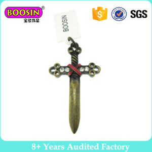 Popular Retro Sword Pendant Charms with Stones pictures & photos