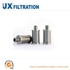 Slot Wire Screen Nozzle for Water Filter pictures & photos