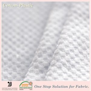 CVC Jacquard Terry Velour Fabric for Bedding