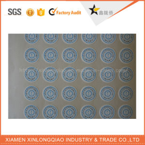 Tamper Evident Void Paper Adhesive Label Printing Company Security Stickers pictures & photos