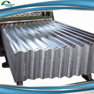 Z80 0.17mm Hot Dipped Galvanized Corrugated Roofing Steel Sheet pictures & photos