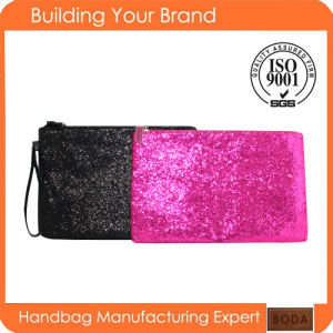 New Design Promotional Fashion Fabric Lady Clutch Bag pictures & photos