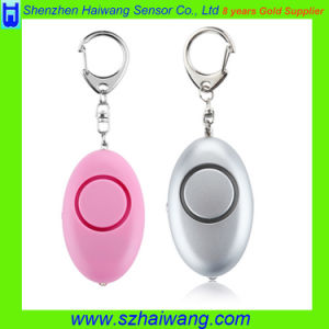 Portable Personal Alarm Self Protection Defence Alarm with LED Light pictures & photos