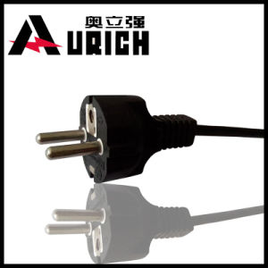 OEM VDE Approved European 2pins Power Cord Plug Cord pictures & photos