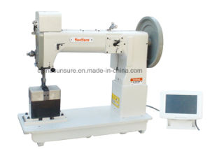 Compound Feed Column Type Single/Double Needles Electronic Pattern Sewing Machine pictures & photos