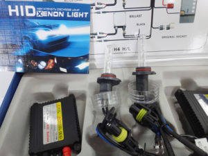 DC 24V 55W H10 HID Lamp (blue and blak wire) pictures & photos