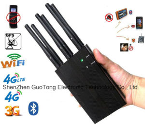 Signal Jammer WiFi Bluetooth GPS Signal Jammer Blocker 4G Lte GPS Jammer 2g 3G 4G Lte GSM CDMA Cellphone Built-in Battery Handheld Jammer All Frequency