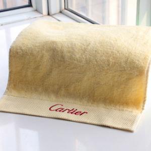 Luxury Microfiber Plain Color 100% Cotton Bathroom Towels pictures & photos