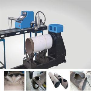 Economical CNC Pipe Sheet Plasma Gas Cutting Machine pictures & photos
