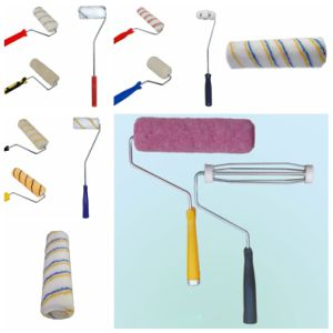 Paint Brush Roller with Plastic Handle pictures & photos