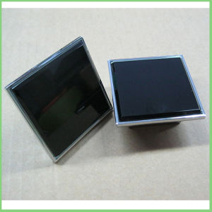 4 Screws 32mm Pitch Cube Black Crystal Glass Handles pictures & photos