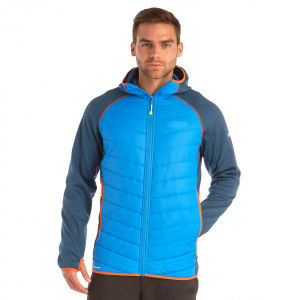 Men′s Quilted and Stretch Padding Jacket with Hood pictures & photos