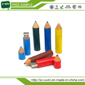 Pencil USB Pen Drive for Promotional Gift pictures & photos