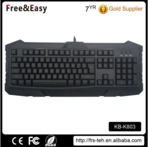 OEM Wired Type and USB Interface Type Gaming Keyboard pictures & photos