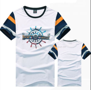 Fashion Crew Neck Short Sleeve T Shirt for Male pictures & photos