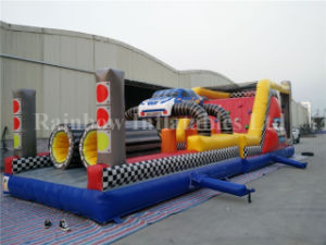 2016 New Sport Game Race Car Inflatable Obstacle Course for Sale pictures & photos