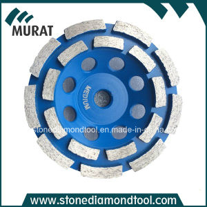 Double Ring Segment Diamond Cup Wheel/Diamond Cup Disc pictures & photos