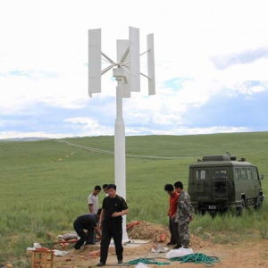 96V 3kw Vertial Axis Wind Power Turbine (SHJ-H3000) pictures & photos
