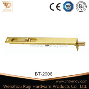 Furniture Hardware Brass Flush Bolt for Interior Door (BT-2006) pictures & photos