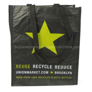 2016 Recycled Custom Printed Laminated RPET Shopping Bag pictures & photos