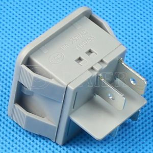 Gray Color Round 15A 125VAC Rocker Switch pictures & photos