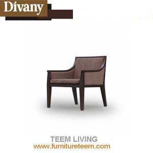 Modern Dining Room Hotel Luxury Leather Chair pictures & photos