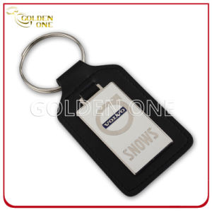 Custom Design Big Size Hard Emanel Leather Keychain pictures & photos