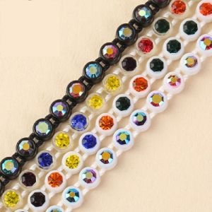 Ss8 Roll Plastic Rhinestone Cup Chain pictures & photos