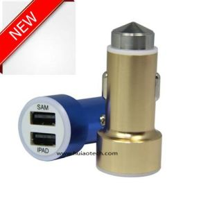 2016 New Unique Design Dual USB Adapter for Car Charger for GPS Navigation, GPS Tracker, Car DVR, Car Controller Display pictures & photos