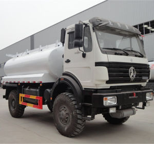 China Factory Sale 10m3 Euro3 Beiben 4X4 Fuel Tanker pictures & photos