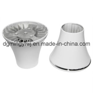 Aluminum Alloy Die Casting for Light Housing (AL0036) with Powder Coated Approved ISO9001-2008