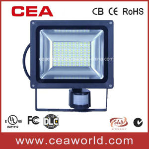 30W High Quality SMD5730 LED Flood Light with PIR Motion Sensor pictures & photos