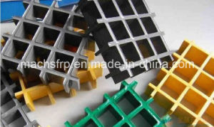 Fiberglass Reinforced Plastic Gratings / FRP/ GRP Grating with High Strength pictures & photos