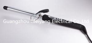 M601b Chrome Plated Barrel LCD Hair Curling Iron pictures & photos