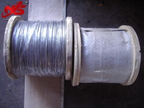 Aircraft Cable Galvanized Steel Wire Rope 7X7 ASTM Standard pictures & photos