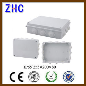 Waterproof IP65 Outdoor Plastic Cable Connection PVC Distribution Box Electric Junction Box with Holes pictures & photos
