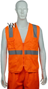 Reflective Clothing, Reflective Jacket, , Safety Wear, Reflective Vest with High Visibility Tape pictures & photos