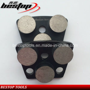 120# Medium Bond 25X12mm Circle Polishing Segments Concrete Grinding Tools pictures & photos