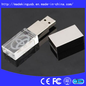 Crystal USB Flash Drive (USB 2.0) pictures & photos