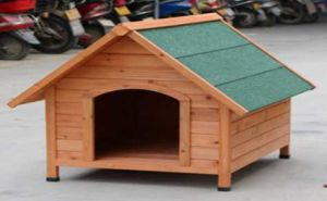 Dh3m Wooden Pet Poultry Doge Cage Hutch Chicken House Kennel