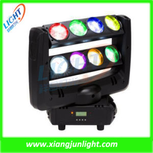 New DJ Stage Lighting 8PCS*10W RGBW LED Moving Head Spider Light pictures & photos